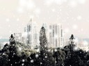 City In Winter